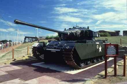 Centurion Mk II em exposição no Museu Militar do Reduto, nos EUA