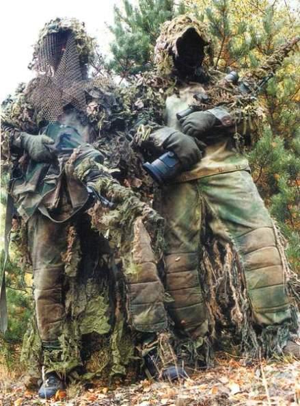 """Atiradores de escol (o mesmo que """"elite""""), Batalhão de Operações Especiais, Corpo de Fuzileiros Navais da Marinha Brasileira."""